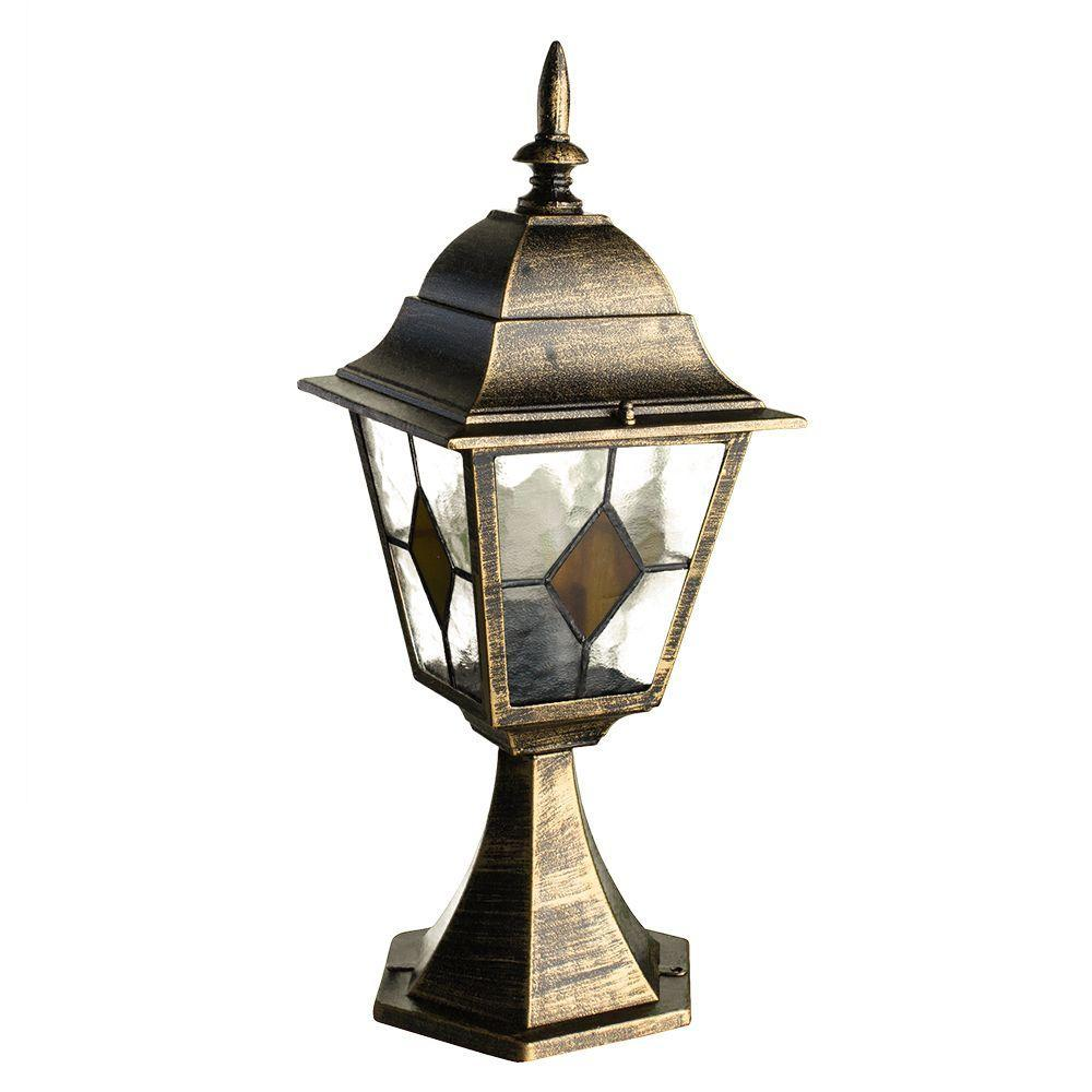 Уличный светильник Arte Lamp A1014FN-1BN, коричневый цена