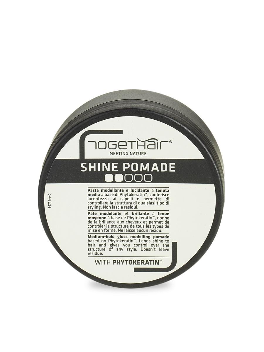 Shine Pomade 100ml /Моделирующий крем-паста средней фиксации insight моделирующая паста средней фиксации 90 мл