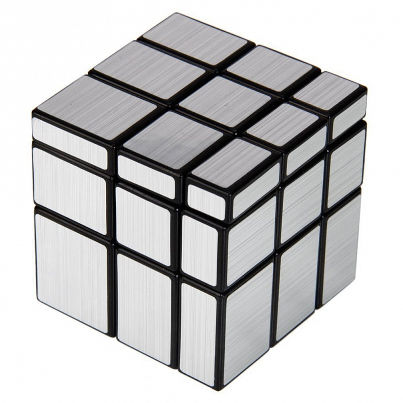 Развивающая игрушка Meffert's Зеркальный Кубик Серебряный