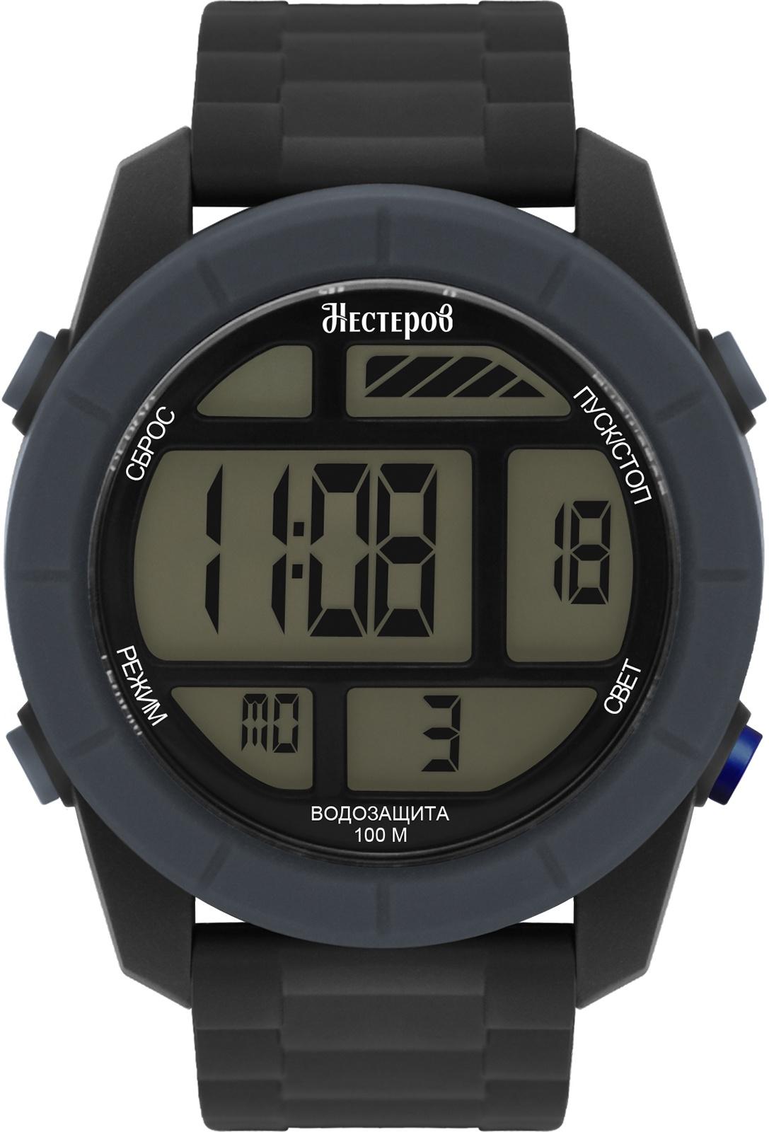 Часы Нестеров H2578A38-16G, черный все цены