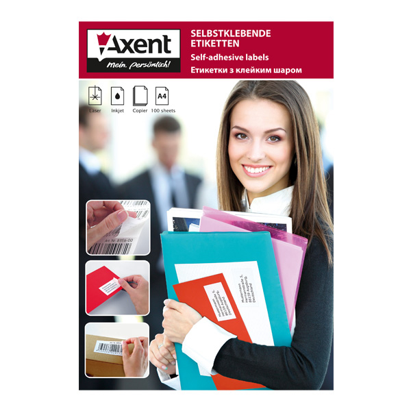 Бумага для заметок Axent 178-2461-A
