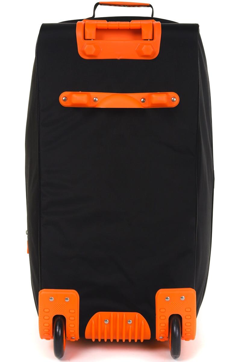 Сумка дорожная TSV 445.20, черный, оранжевый