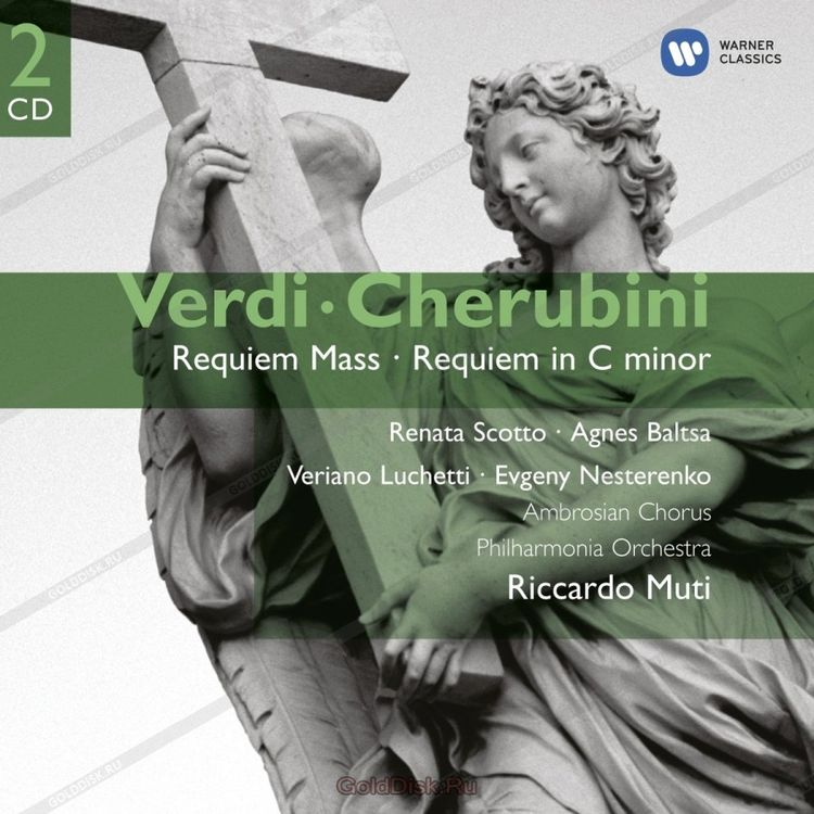 Giuseppe Verdi, Cherubini. Requiem Mass, Requiem In C Minor (2CD) l cherubini missa solemnis in d minor