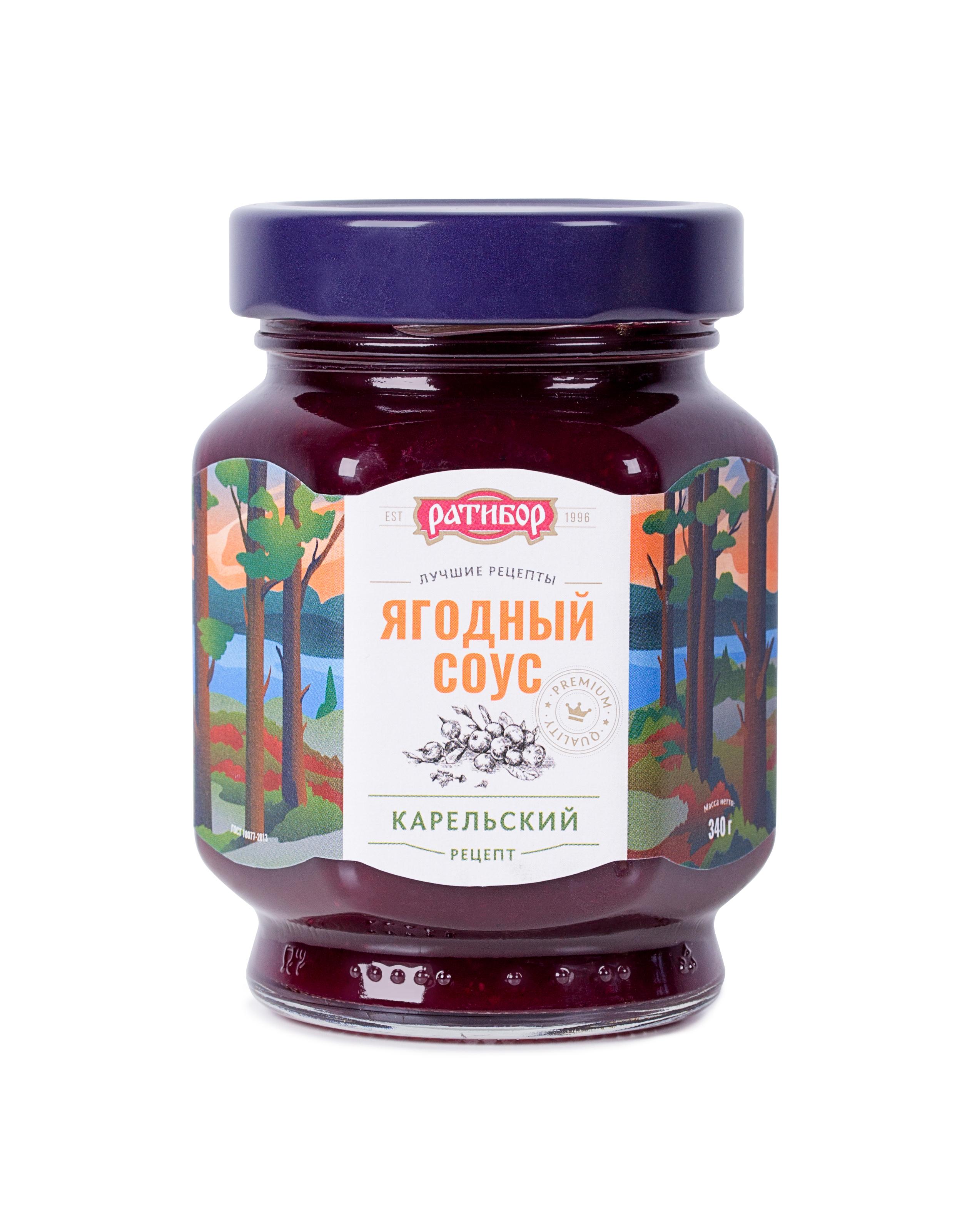 Соус Ратибор Карельский, 340 цена 2017