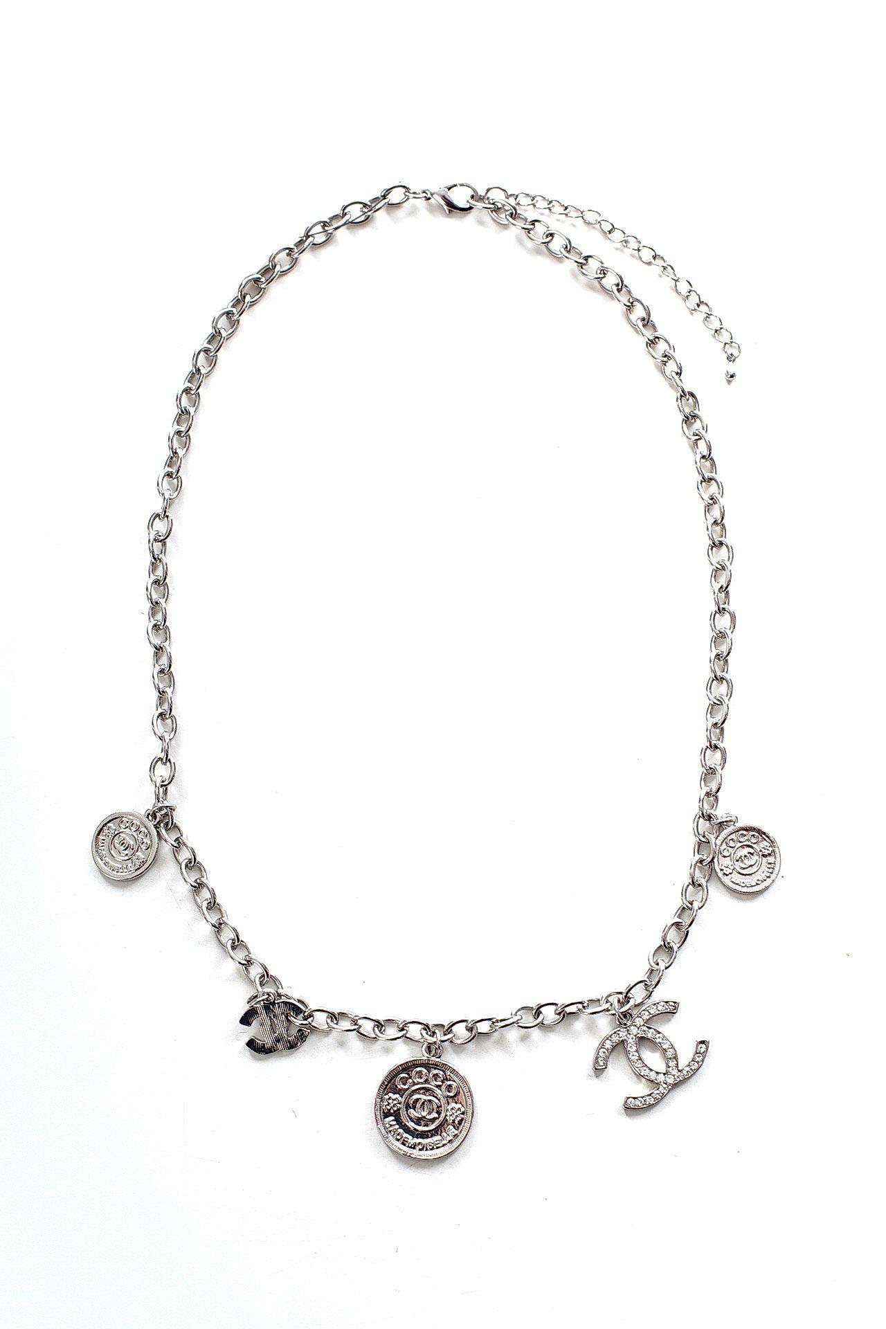 Цепь/цепочка бижутерная EUROBIJOUX 24344-Б/р серебряная цепочка
