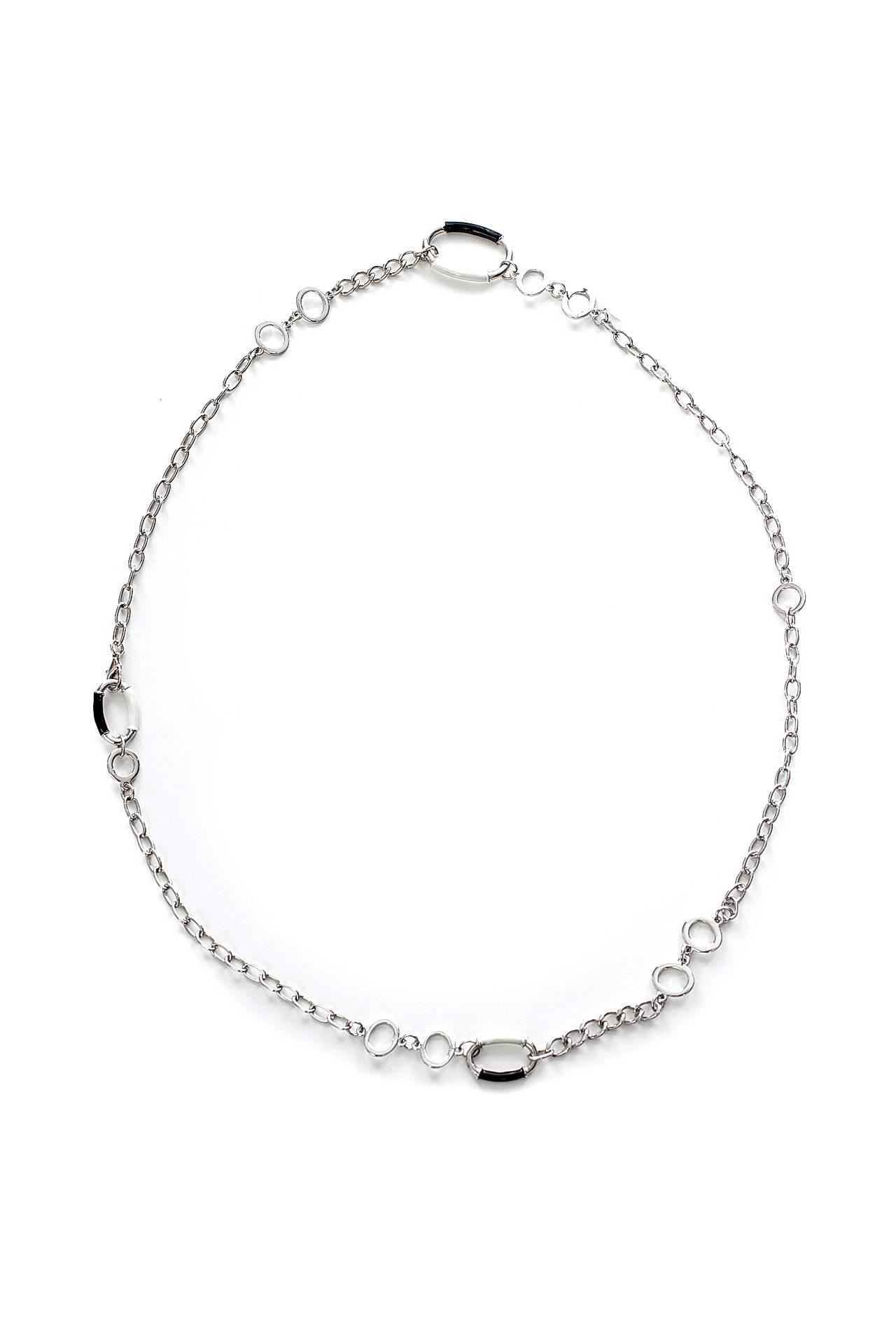 Цепь/цепочка бижутерная EUROBIJOUX 21778-Б/р серебряная цепочка