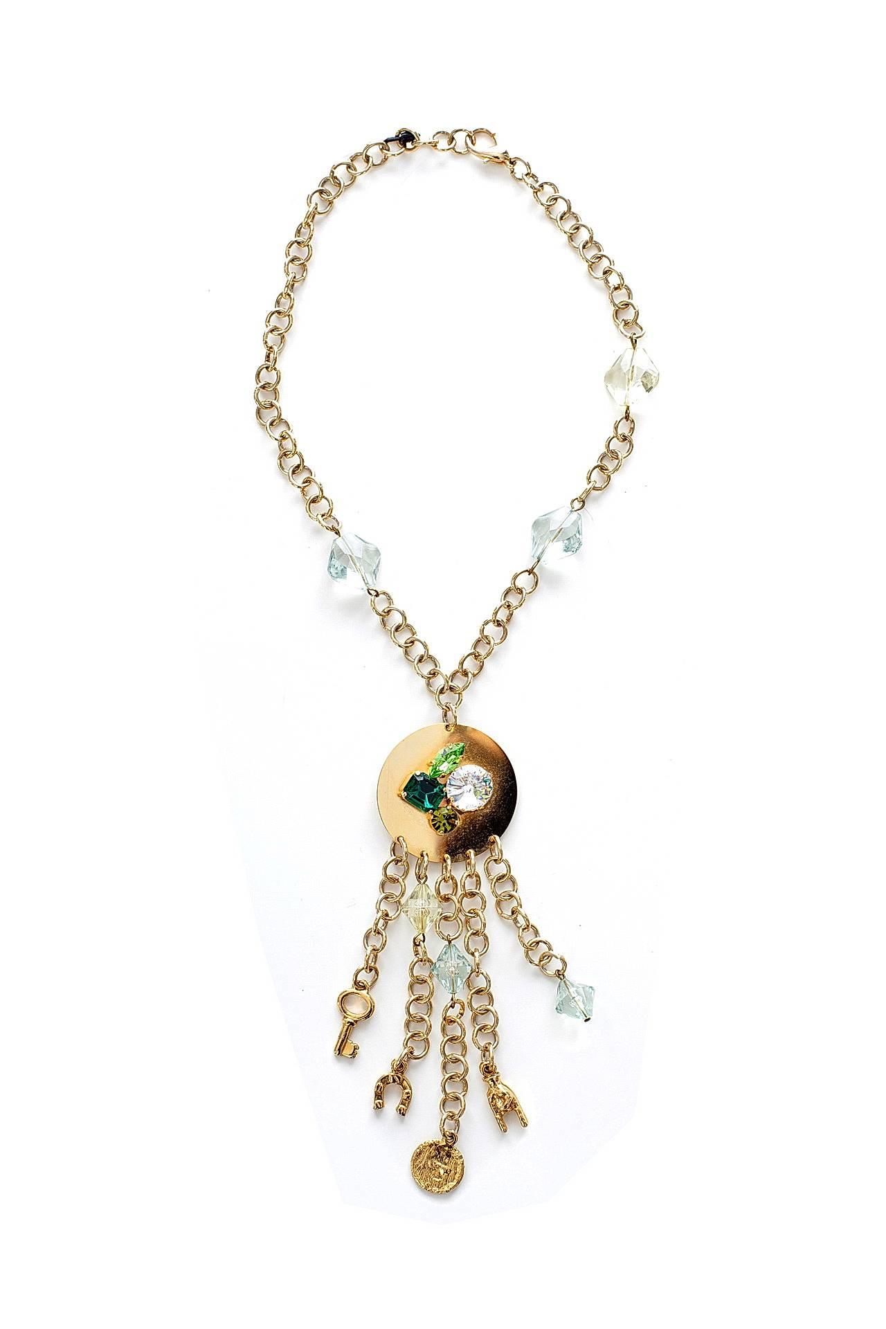 Цепь/цепочка бижутерная EUROBIJOUX 9755-Б/р женская цепь эстет золотая цепочка est01ц7100140 65
