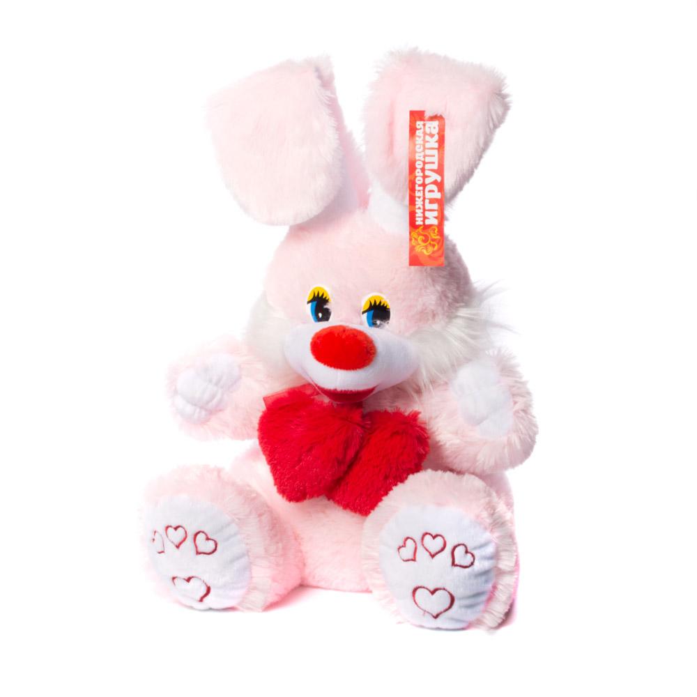 Мягкая игрушка Заяц Праздничный Нижегородская Игрушка См-251-в-5