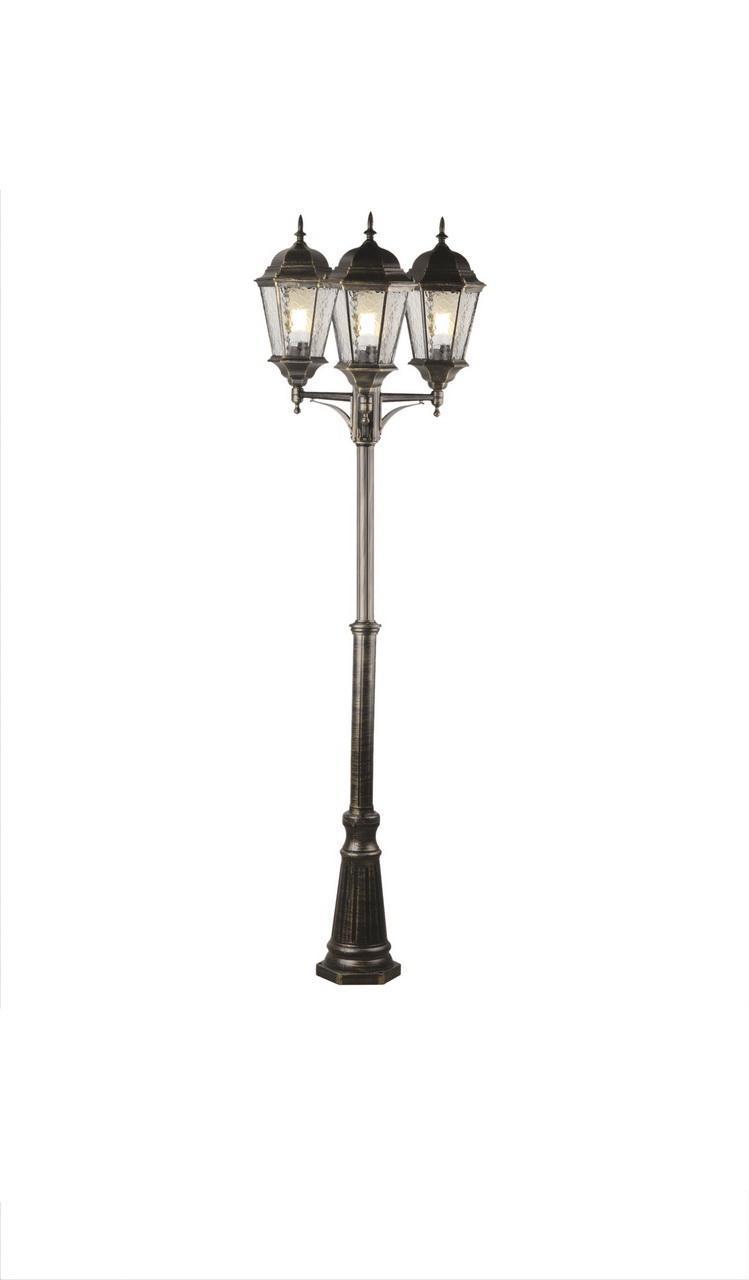 цена на Уличный светильник Arte Lamp A1207PA-3BN, черный