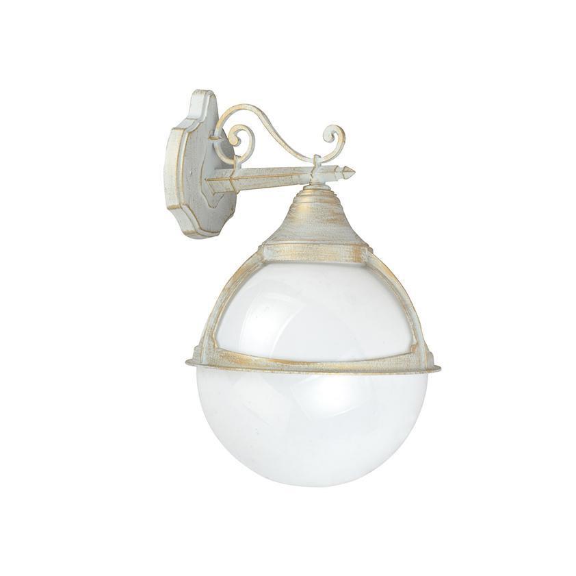 Уличный светильник Arte Lamp A1492AL-1WG, белый светильник настенный arte lamp bettina a1296ap 1wg 4650071250154