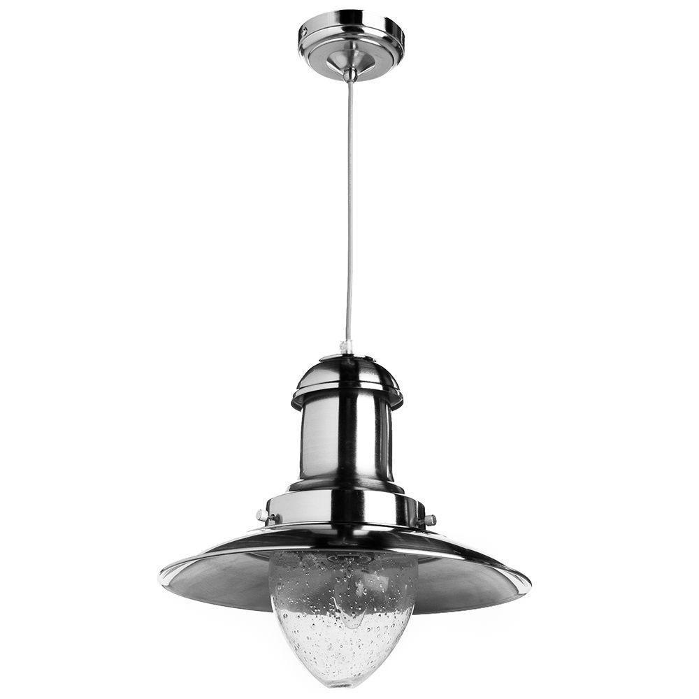 Подвесной светильник Arte Lamp A5530SP-1SS, серебристый подвесной светильник arte lamp ufo a1260sp 1ss