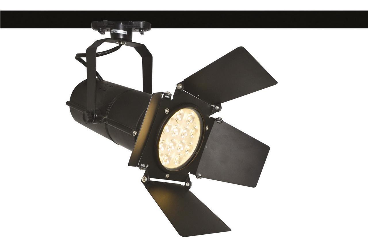 Потолочный светильник Arte Lamp A6312PL-1BK, черный трековый светильник arte lamp track lights a6312pl 1bk