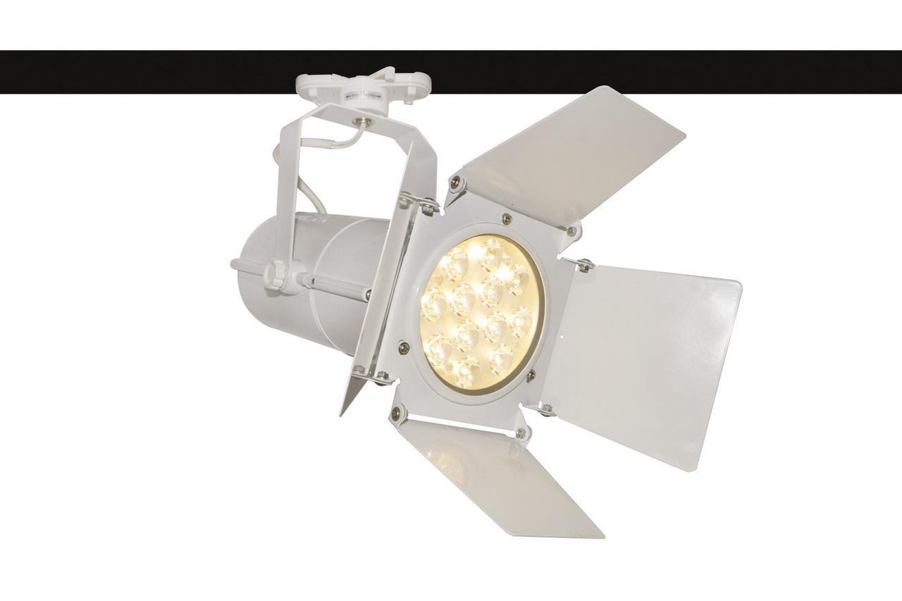 Потолочный светильник Arte Lamp A6312PL-1WH, белый трековый светильник arte lamp track lights a6312pl 1bk