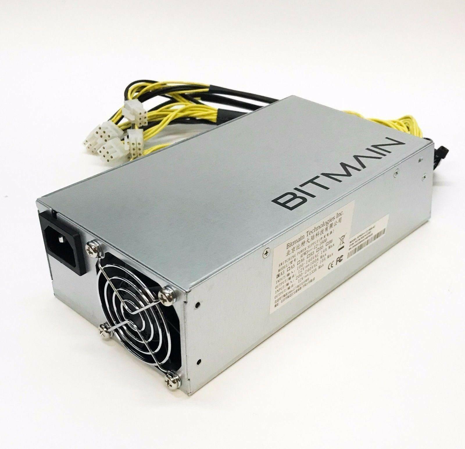 Блок питания Bitmain APW 3++ 1600 Вт