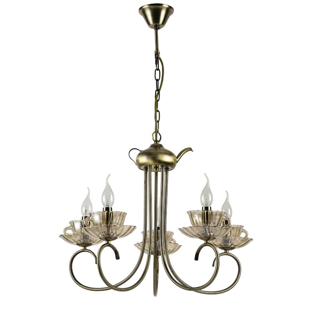 Подвесной светильник Arte Lamp A1750LM-5AB, E14, 60 Вт