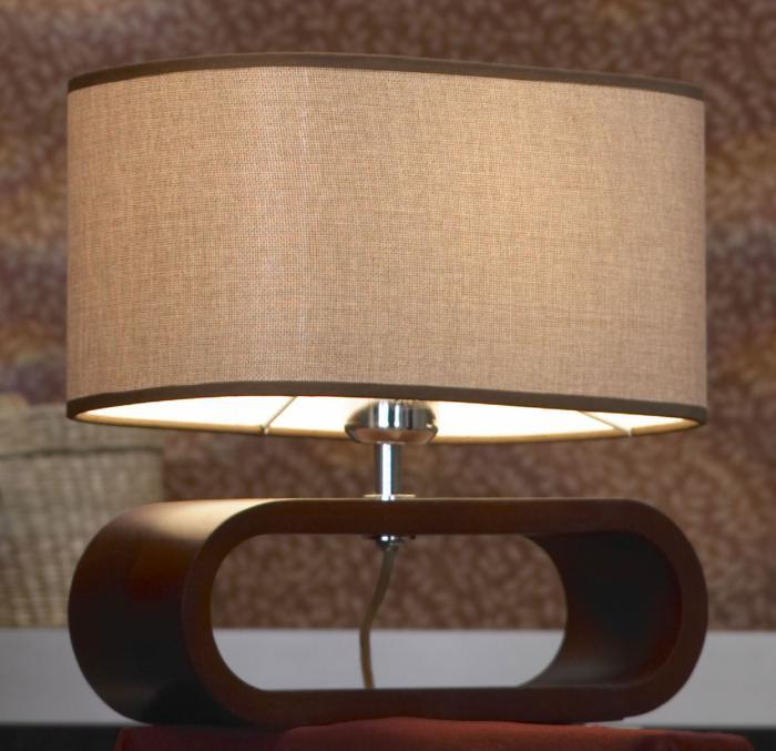 Настольный светильник Lussole LSF-2104-01, коричневый цены