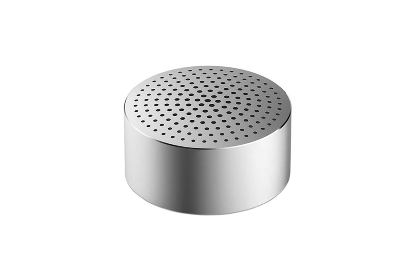Беспроводная колонка Xiaomi Портативная колонка Bluetooth Mi Portable Round Box Silver (FXR4040CN), серебристый