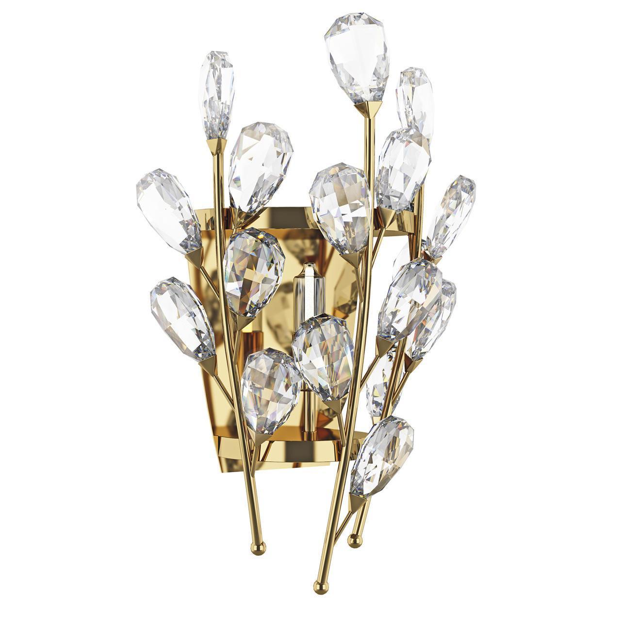 Бра Lightstar 791612, золотой бра la lampada 7257 wb 7257 2 26