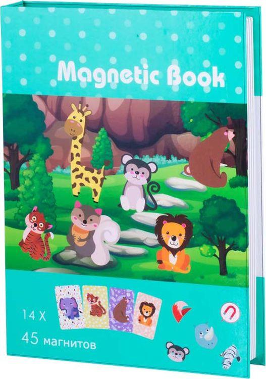 Развивающая игрушка Magnetic Book В зоопарке, TAV034