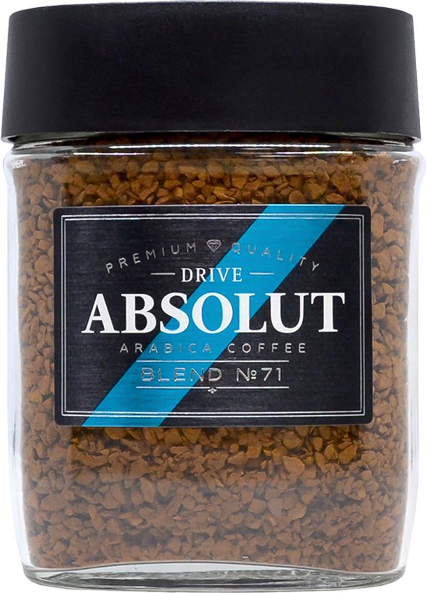 Кофе растворимый Absolut Drive Blend №71, сублимированный, 95 г drive for life extra strong кофе сублимированный 150 г