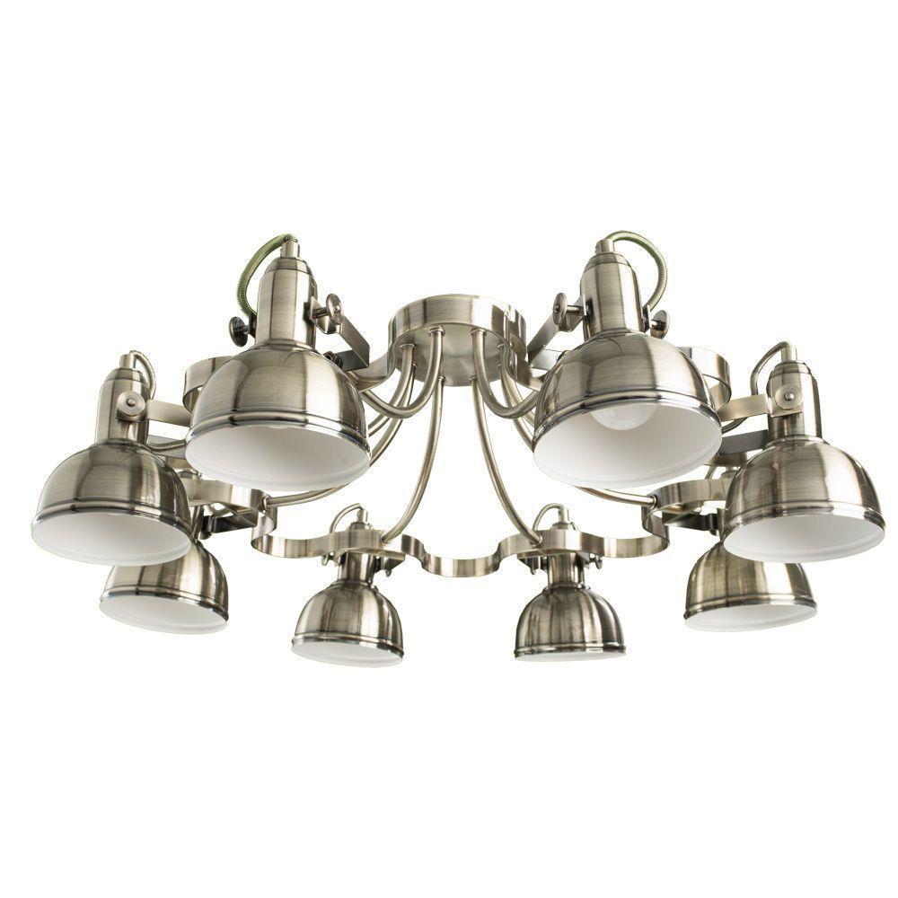 Потолочный светильник Arte Lamp A5216PL-8AB, бронза цены