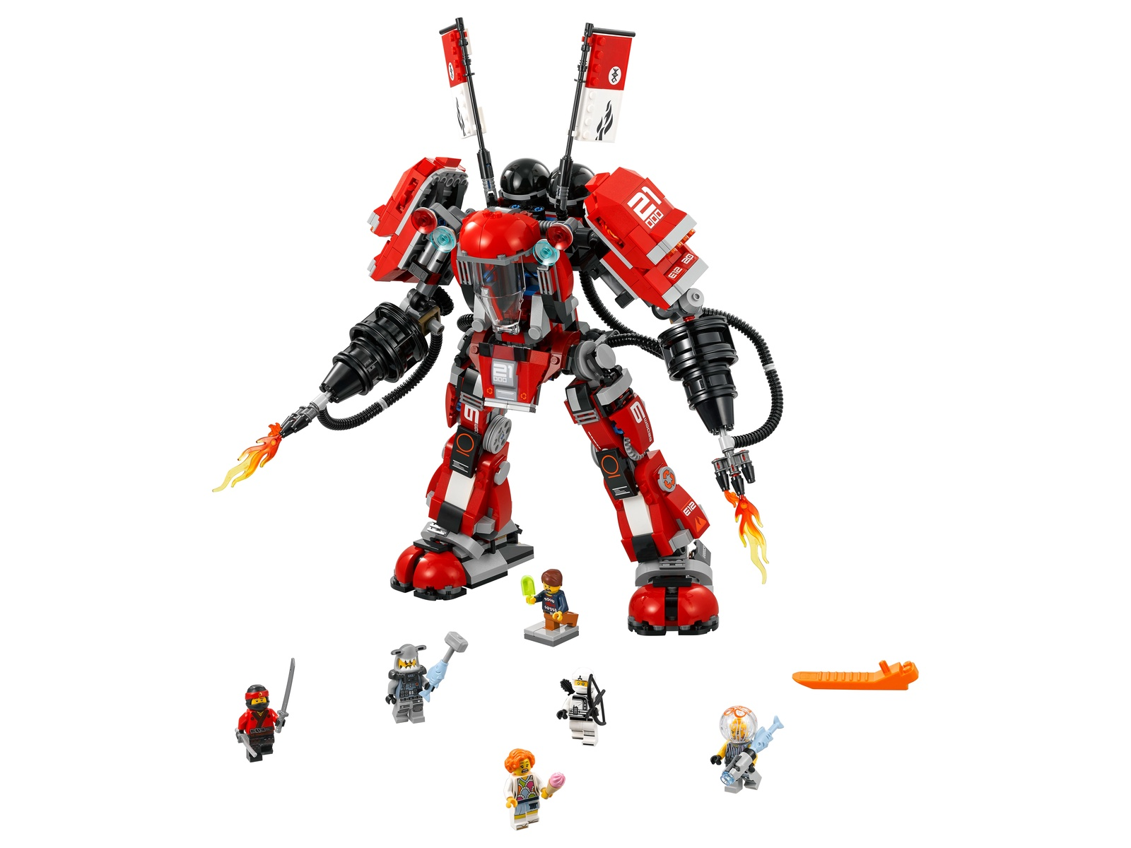 Пластиковый конструктор LEGO 70615