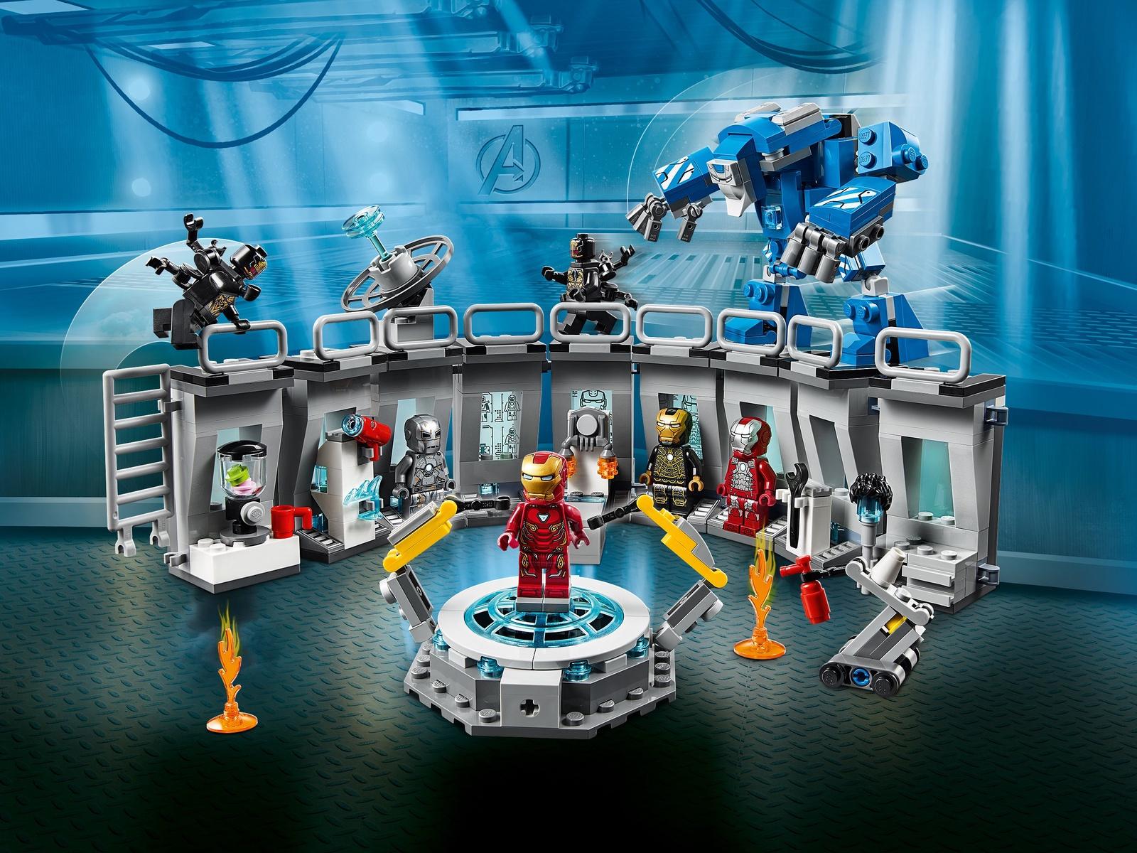 Пластиковый конструктор LEGO 76125