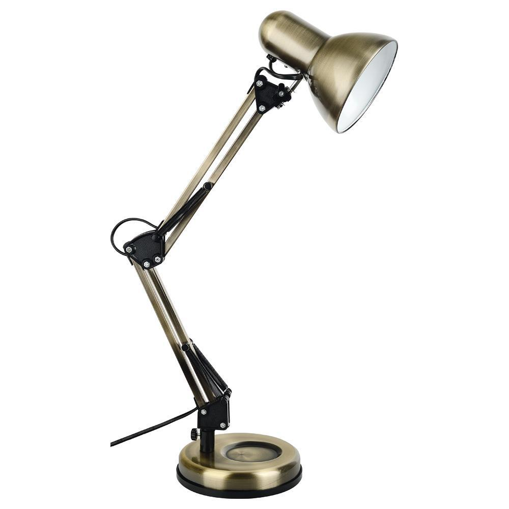 Настольный светильник Arte Lamp A1330LT-1AB, бронза arte lamp настольная лампа arte lamp junior a1330lt 1ab