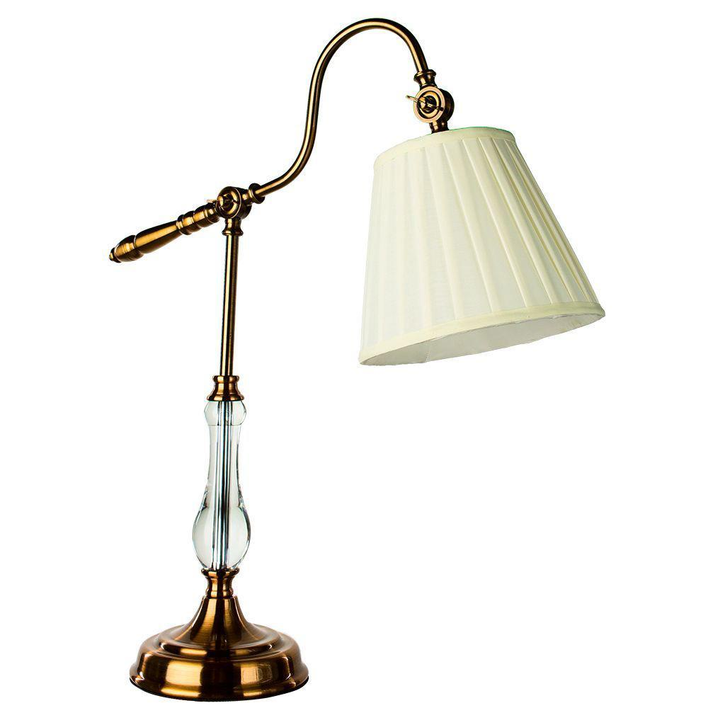 Настольный светильник Arte Lamp A1509LT-1PB, белый цена