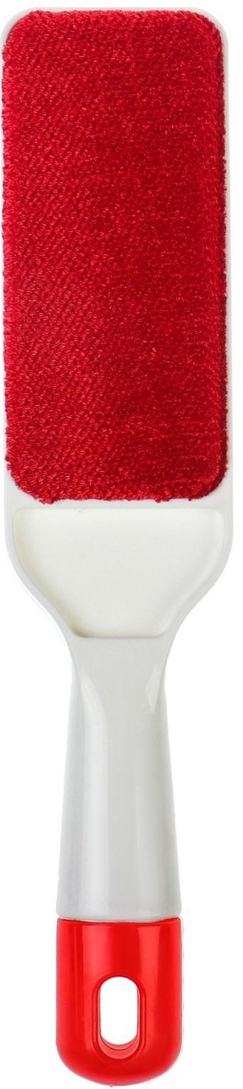Щетка для одежды Fidget Go Чистюля, белый, красный виледа сменные ролики для чистки одежды