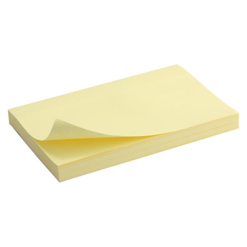 Бумага для заметок Axent 178-D3316-01 бумага с липким слоем 3m 90 листов 51х76 мм желтый 656 s