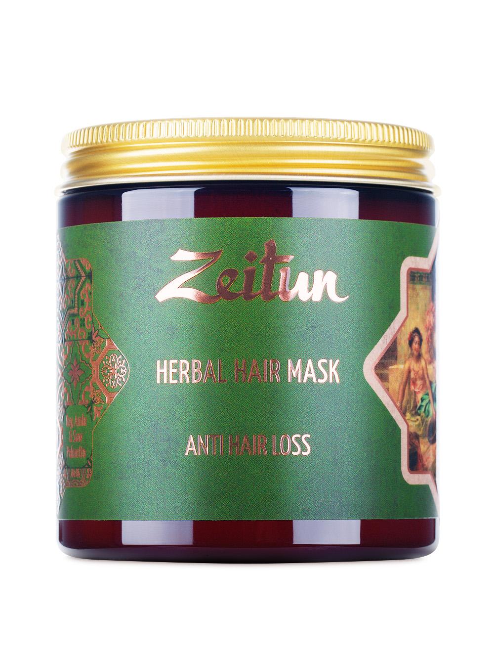 Фито-маска против выпадения волос. С грязью Мертвого моря и амлой