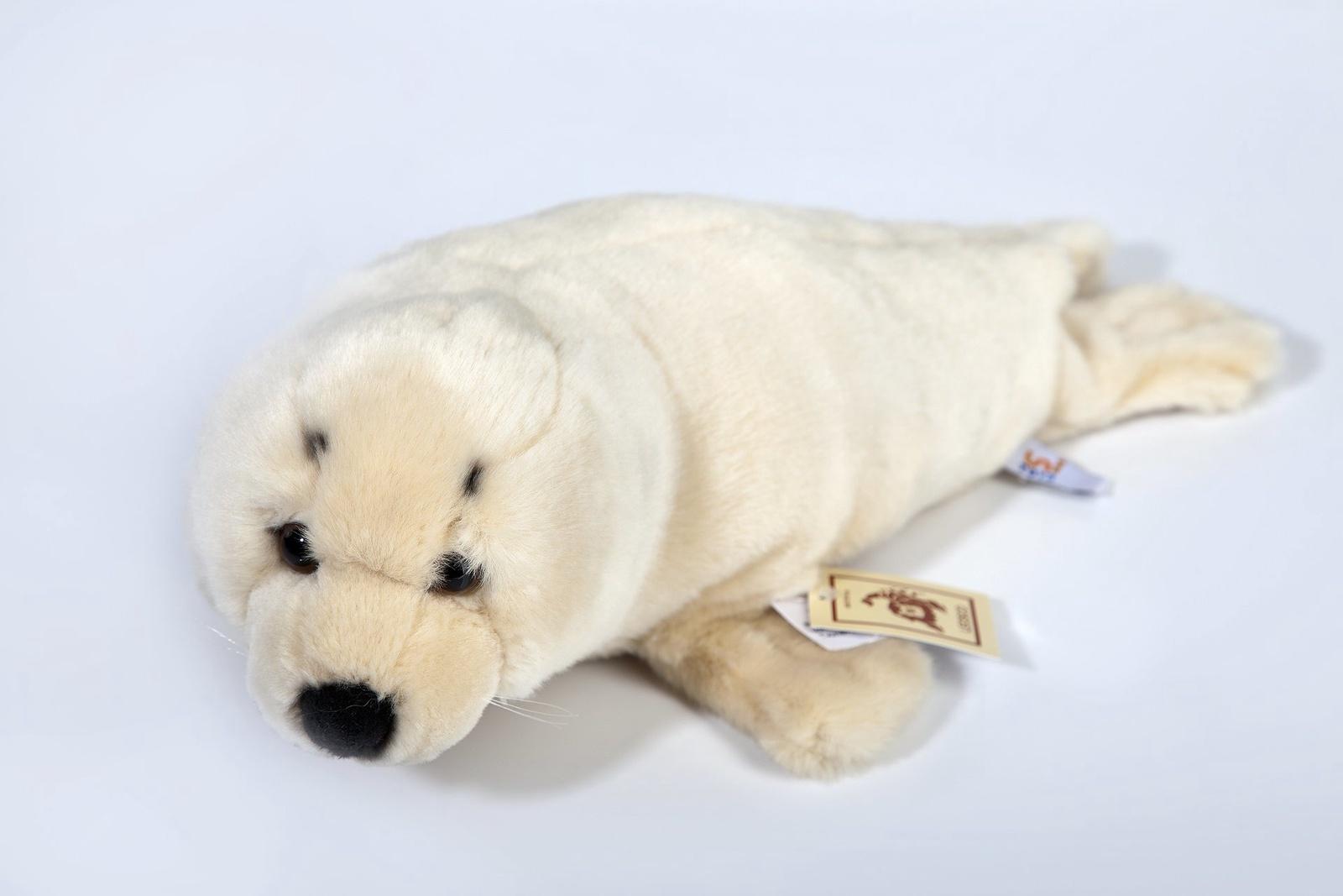 Мягкая игрушка Leosco Тюлень бежевый