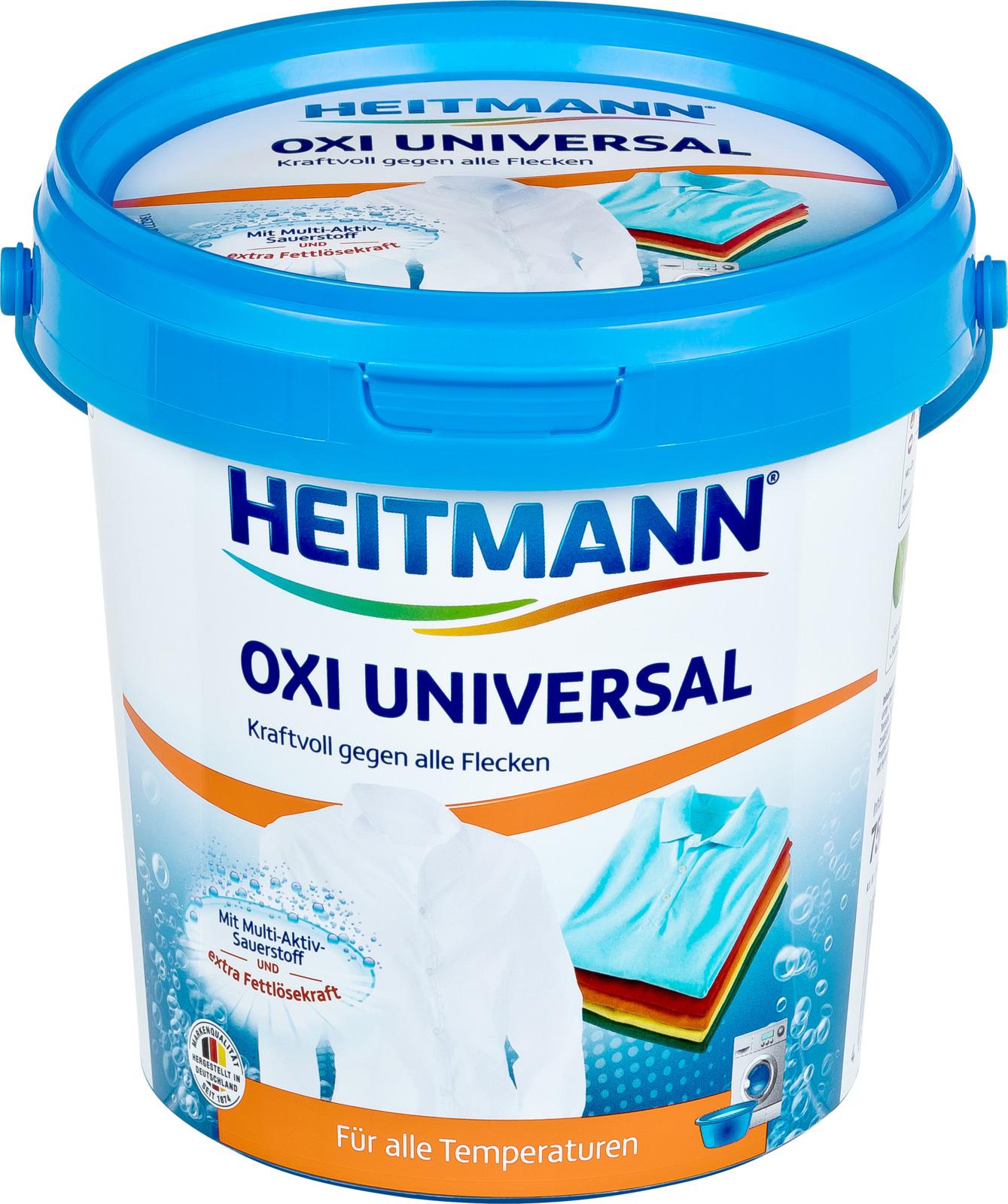 Пятновыводитель Heitmann HTM Мультицелевой, 3560, 750 г