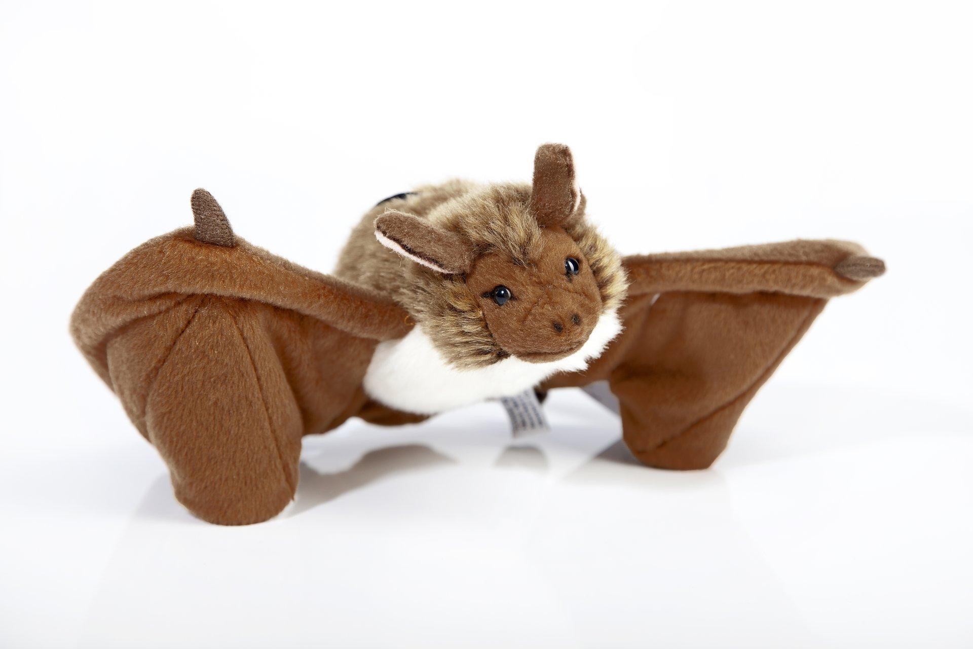 Мягкая игрушка Leosco Летучая мышь коричневый