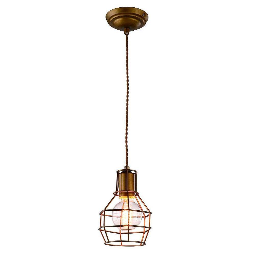 цена на Подвесной светильник Arte Lamp A9182SP-1BZ, бронза