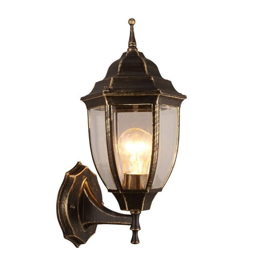 Уличный светильник Arte Lamp A3151AL-1BN, коричневый уличный подвесной светильник arte lamp pegasus a3151so 1bn