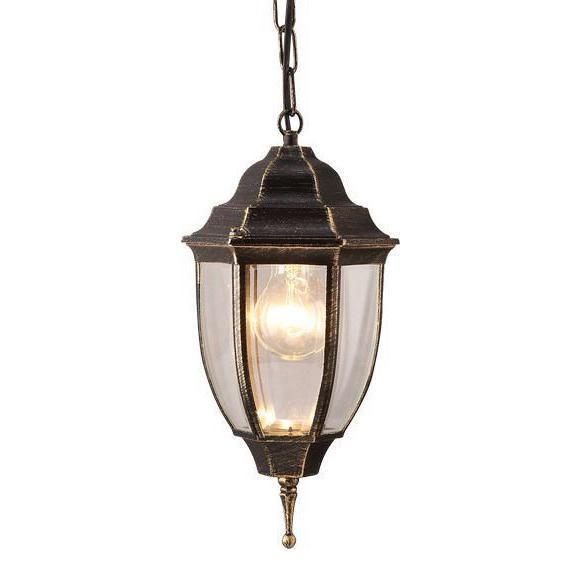 Уличный светильник Arte Lamp A3151SO-1BN, коричневый уличный подвесной светильник arte lamp pegasus a3151so 1bn