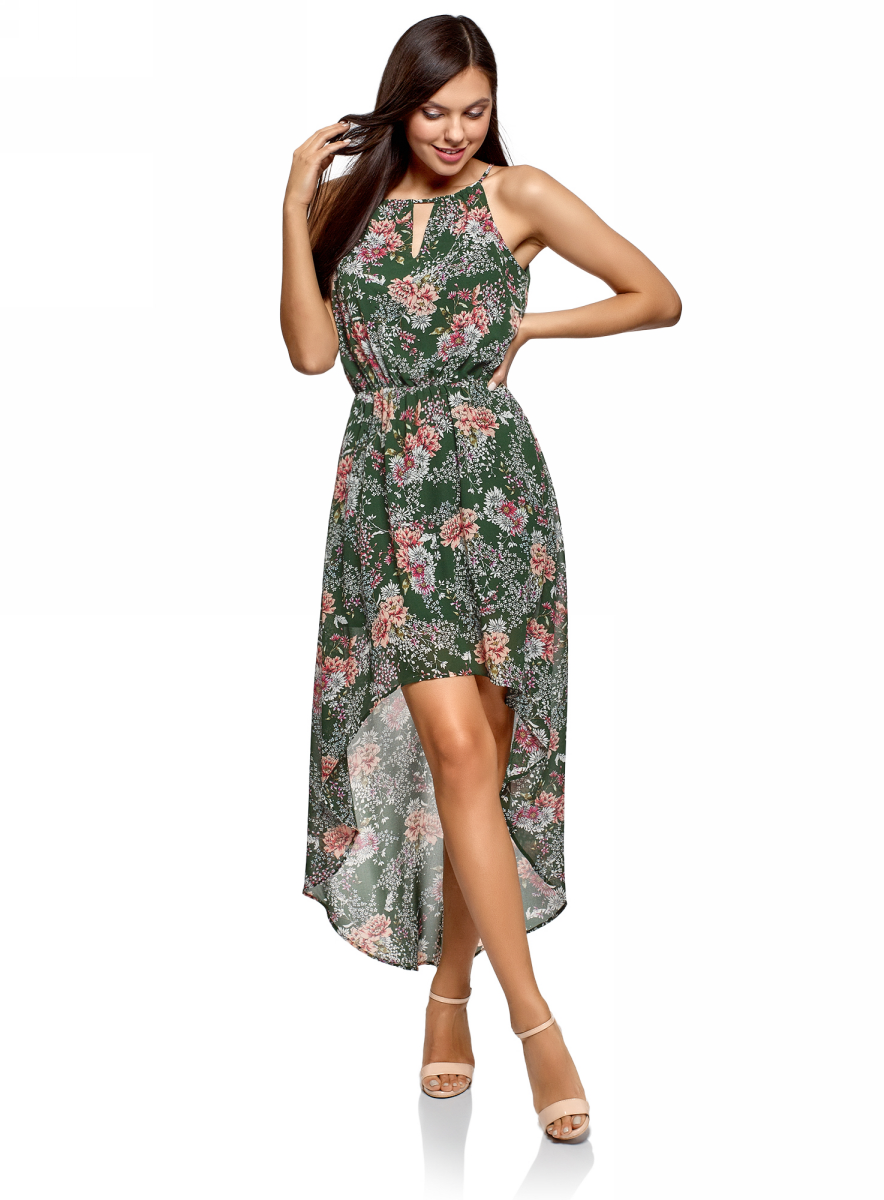 Платье oodji Ultra  4680488742348, 11910064-3B/35271/6954F