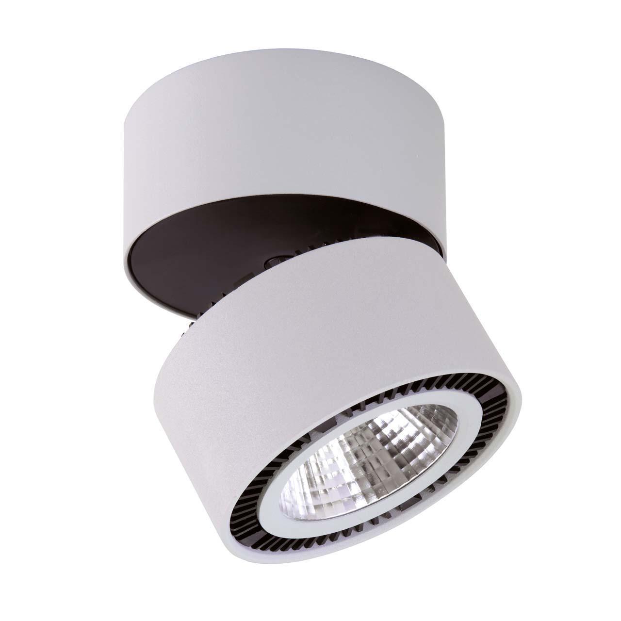 Потолочный светильник Lightstar 214839, серый потолочный светодиодный светильник lightstar forte muro 214839