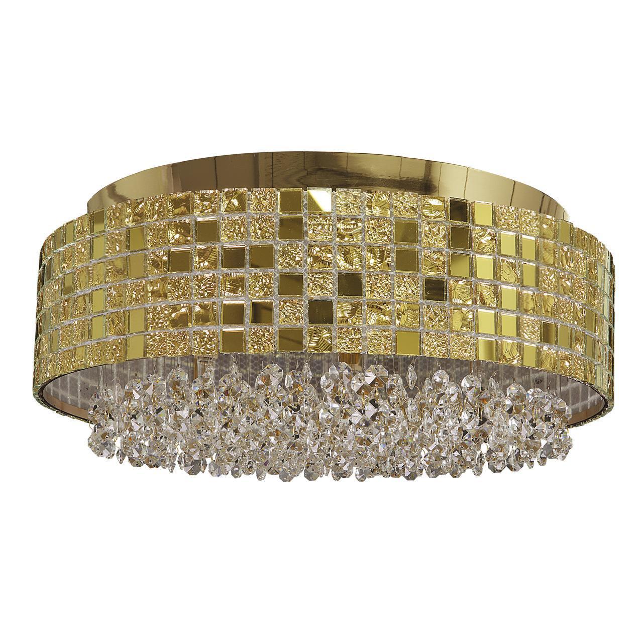 Потолочный светильник Lightstar 743062, золотой