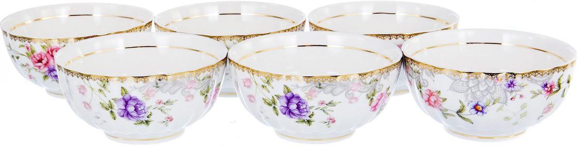 Набор салатников Balsford Цецера Франческа, 108-04051, 250 мл, 6 шт набор 6 салатников 14 см royal bone china