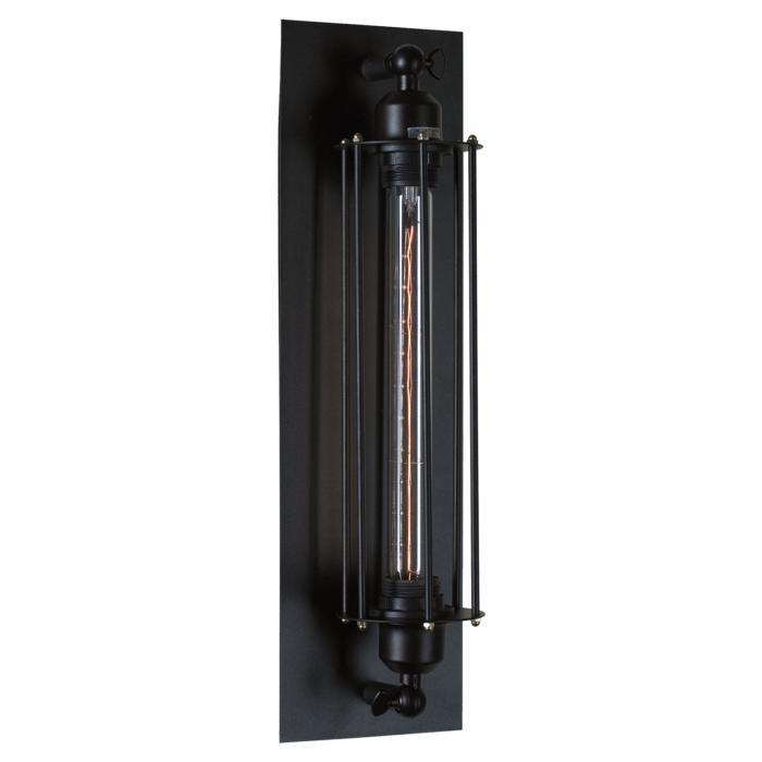 Настенный светильник Lussole LSP-9120, черный настенный светильник loft it loft1344w