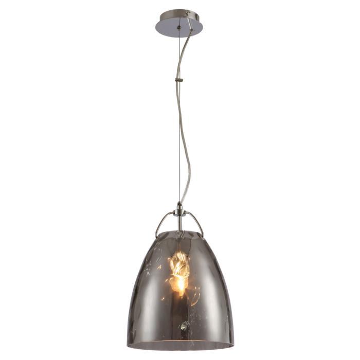 Подвесной светильник Lussole LSP-9634, серый металлик цена