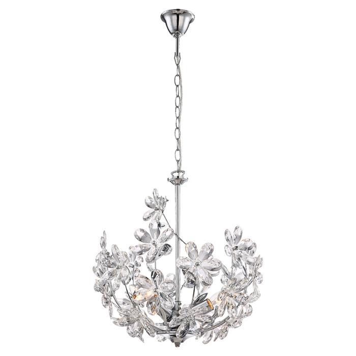 Подвесной светильник Lussole LSP-0184, серый металлик люстра lussole lsp 0184