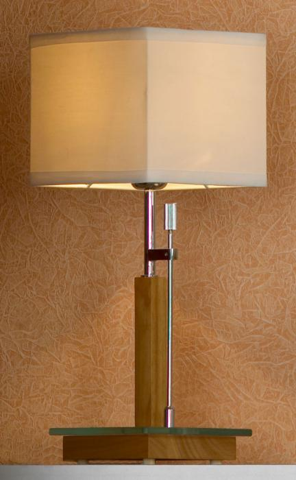 Настольный светильник Lussole LSF-2504-01, серый металлик настольная лампа lussole montone lsf 2574 01