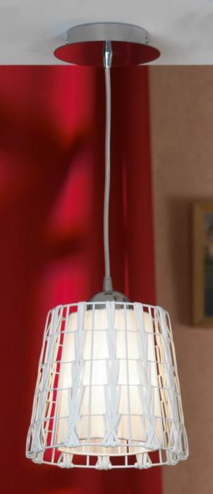 Подвесной светильник Lussole LSX-4106-01, серый металлик