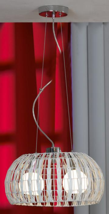 Подвесной светильник Lussole LSX-4103-02, серый металлик