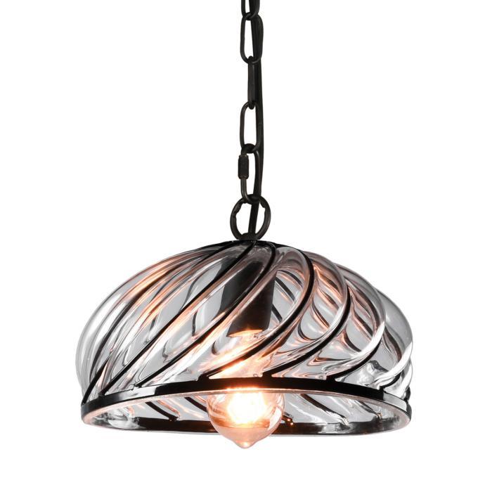 Подвесной светильник Lussole LSP-9874, черный цены