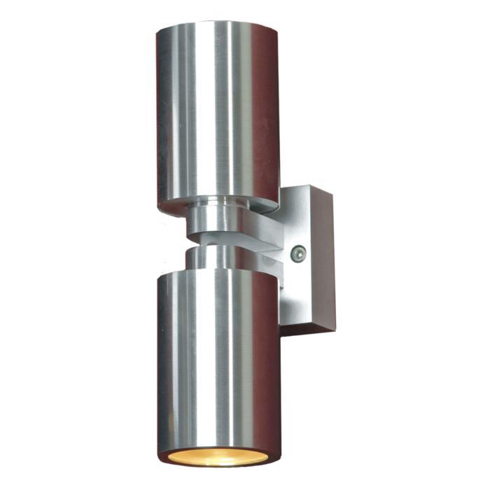 Настенный светильник Lussole LSQ-9501-02, серебристый lussole lsq 9501 01